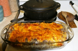 Venison breakfast bake