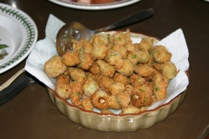 Buttermilk fried okra small