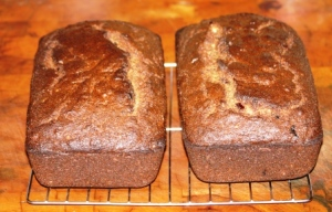 persimmon fruit bread small