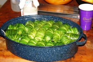 Stuffed cabbage 2nd layer small