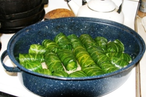 Stuffed cabbage small
